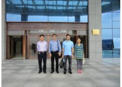 Brazilian customers visit ShanDong Phoebus Rubber CO.,LTD