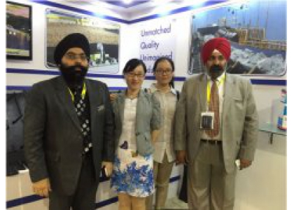 """Our company participated """"2016M&T EXPO""""Of India"""